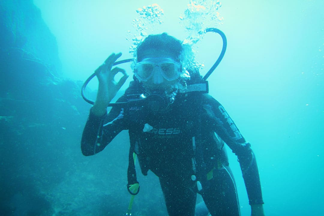 Diving at Blue Bay Mauritius-2