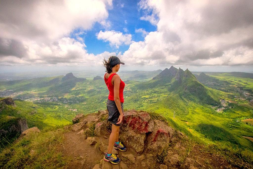Hiking Le Pouce