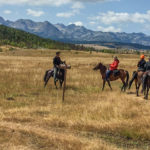 Lone ranger: horse riding in Montenegro