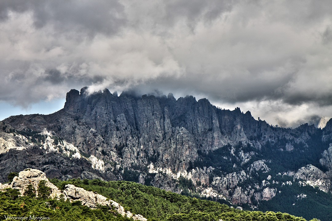 Natural wonders in France-Aiguilles-de-Bavella