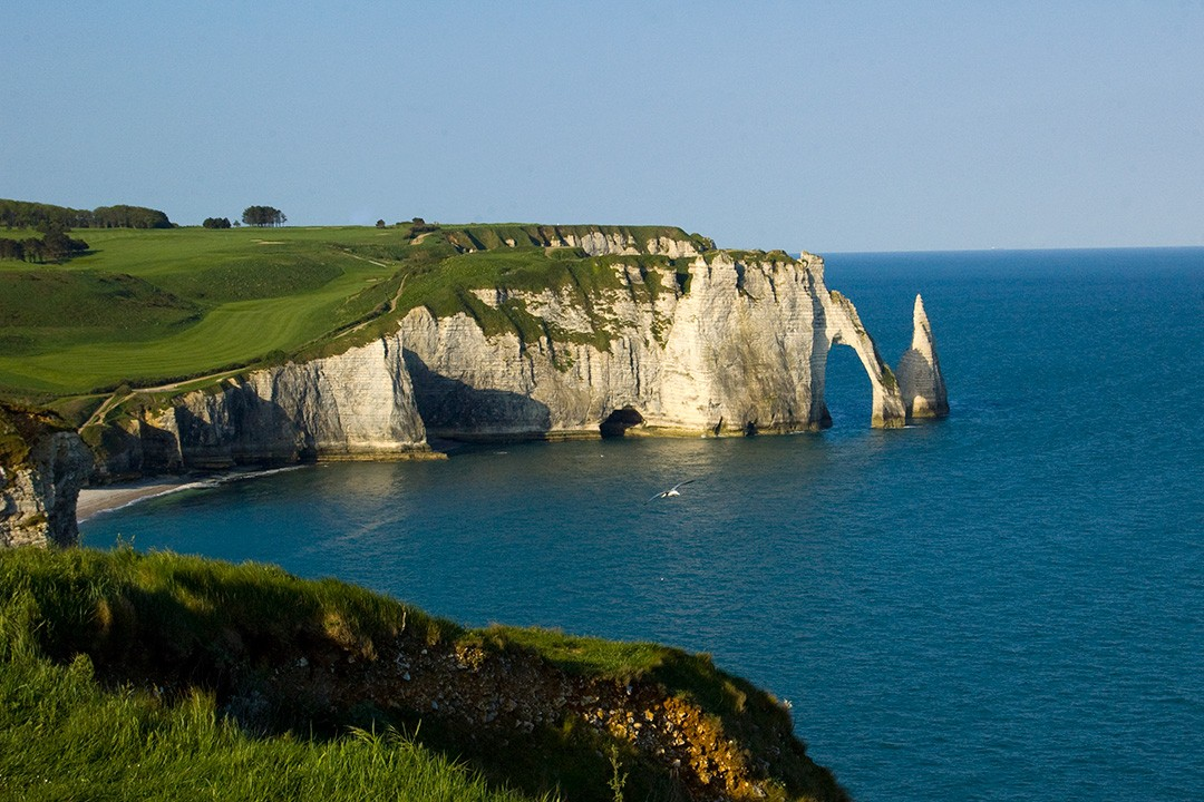 The Étretat Cliffs have inspired numerous writers and artists