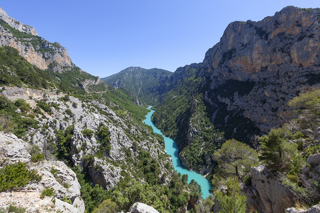 Natural wonders in France-Gorges-de-Verdon