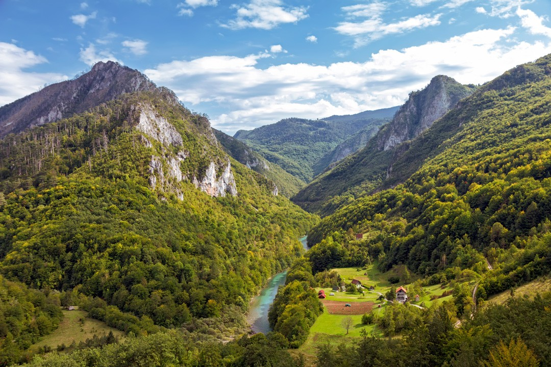Interesting facts about Montenegro: Tara Canyon in is Europe's biggest canyon