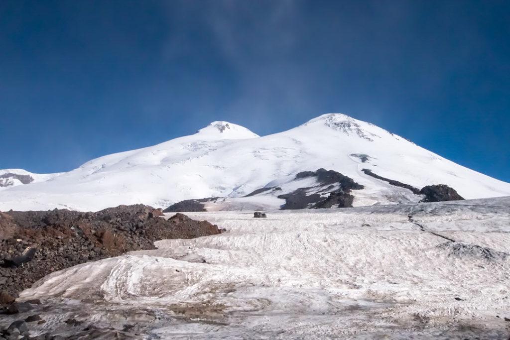 Mt Elbrus in Russia