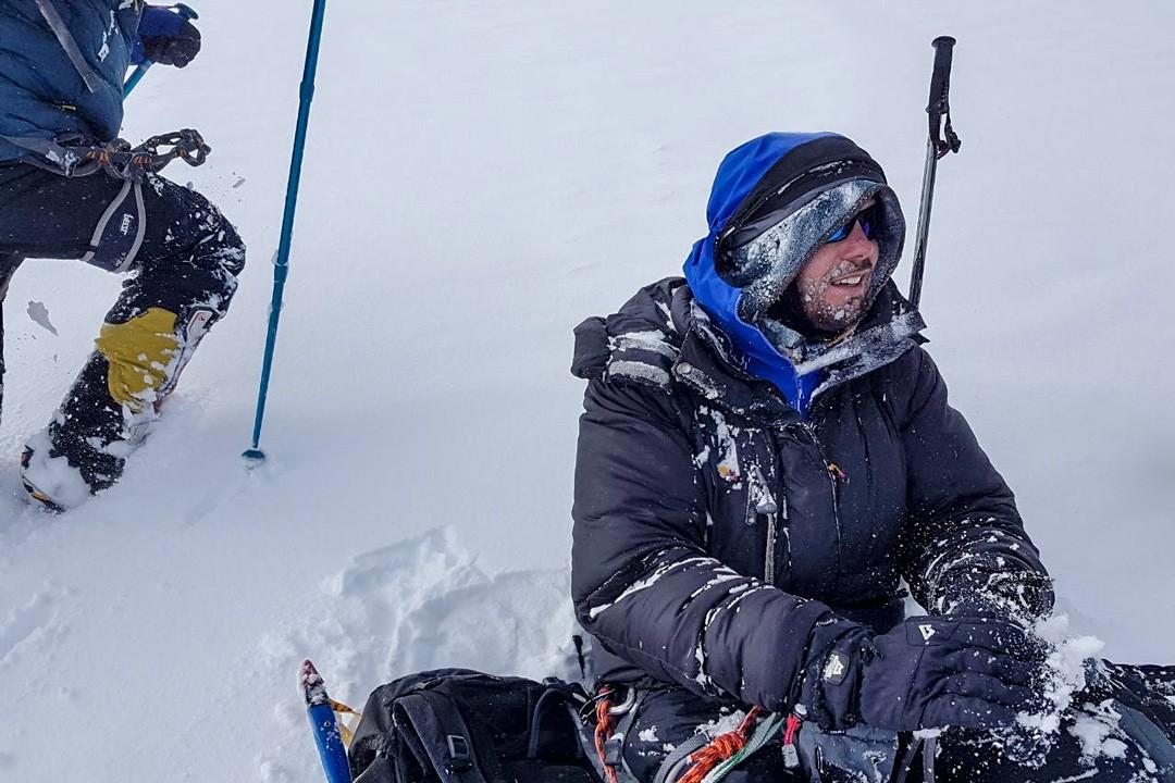 climbing mount elbrus-snowstorm seat