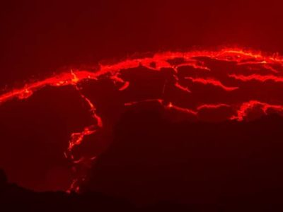 Erta Ale Volcano in the Danakil Depression