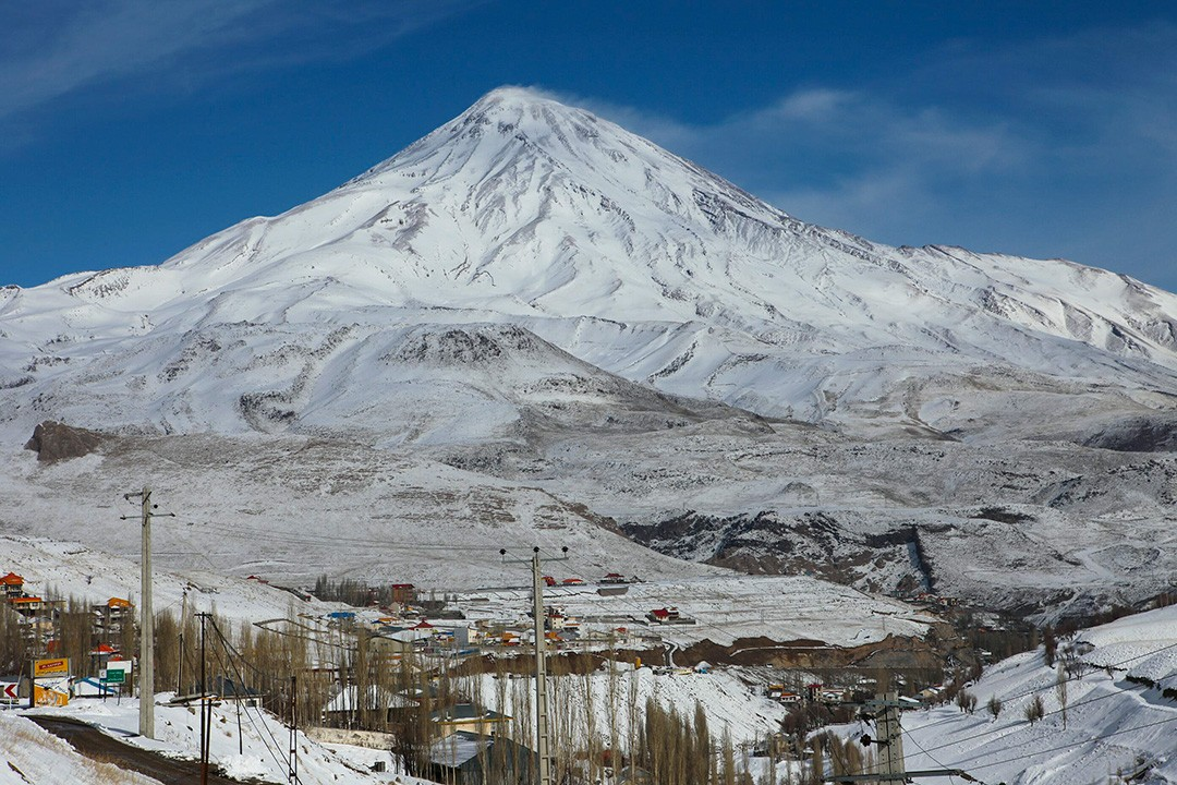 volcanic seven summits Damavand