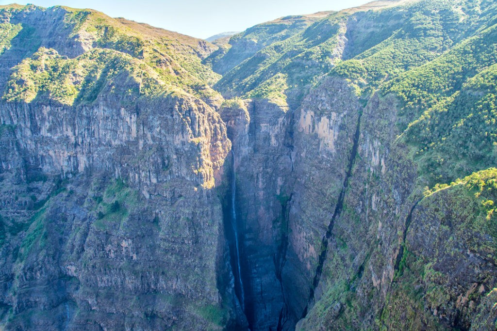 Simien mountains national park Jinbar Waterfall