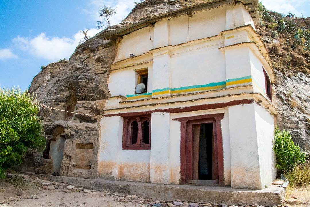 Maryam Korkor is one of the more famous Tigray churches