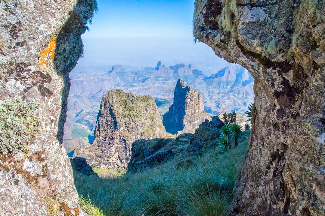 Simien Mountains trek best view
