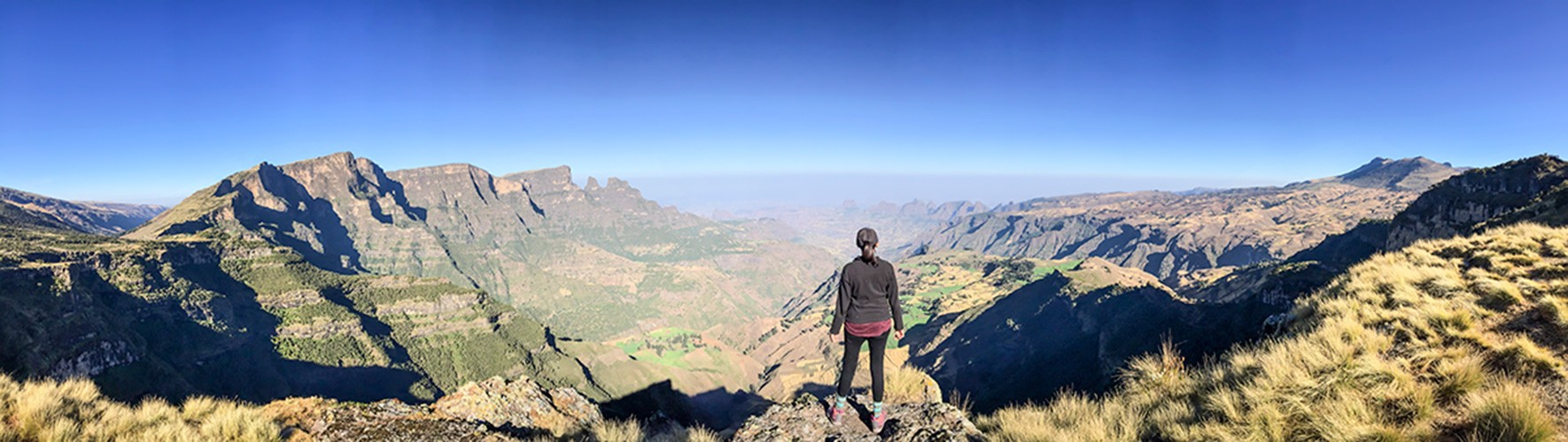 Imet Gogo offers one of the best viewpoints in Simien Mountains National Park