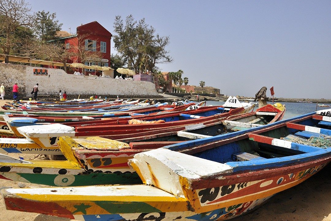 Original world heritage sites GORÉE