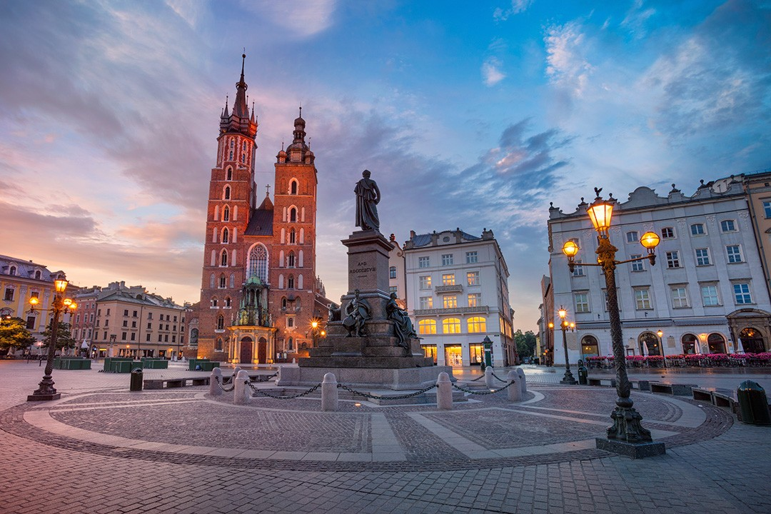 Original world heritage sites KRAKÓW