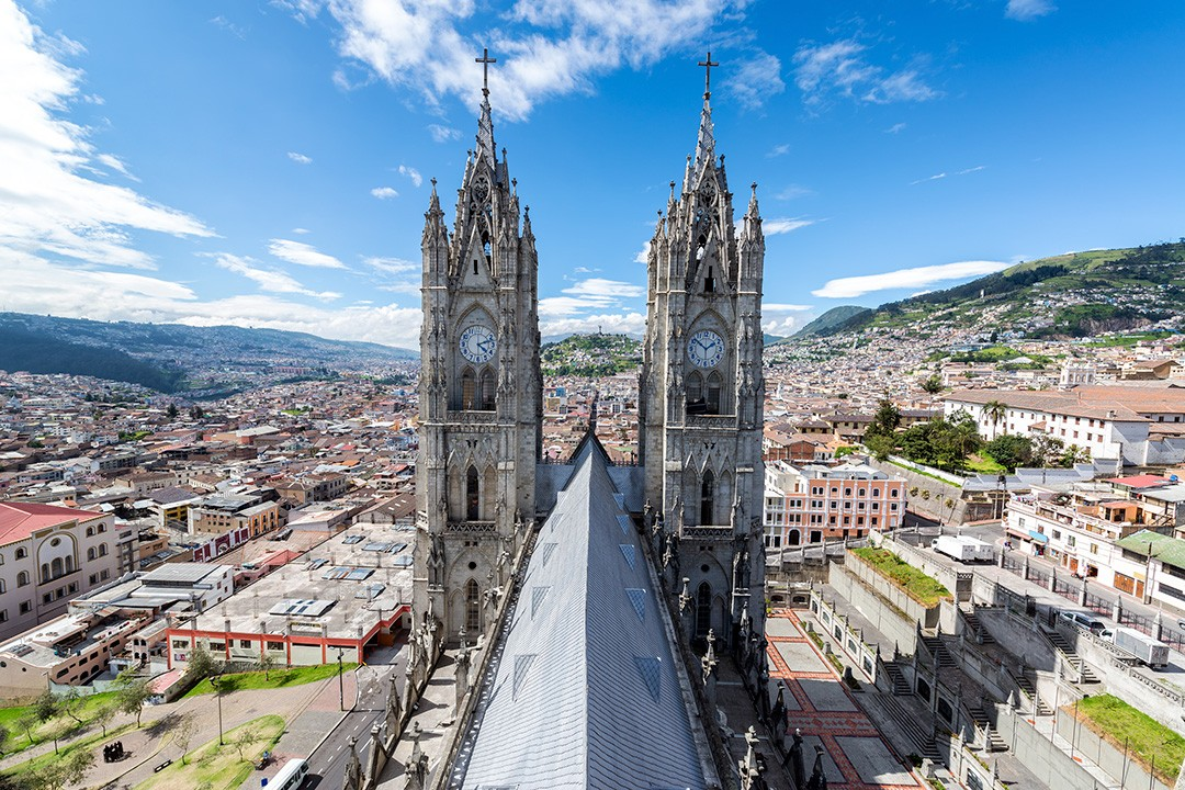 Original world heritage sites QUITO