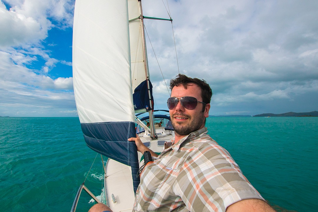 Sailing the Whitsunday Islands from Airlie Beach, Australia