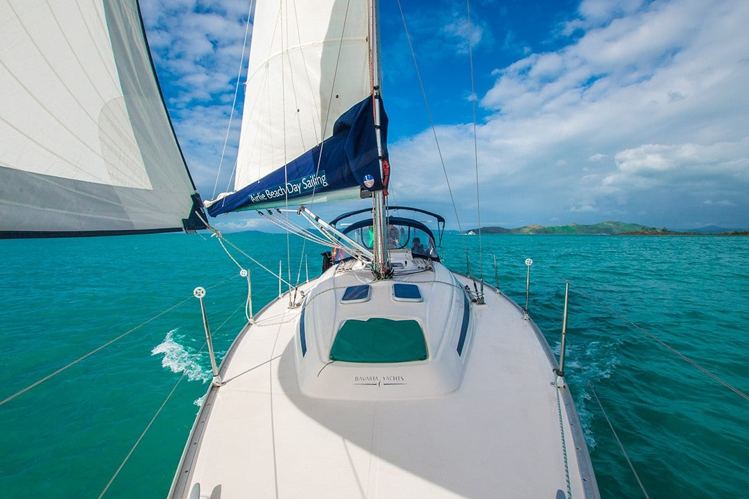 Sailing the Whitsunday Islands from Airlie Beach 15