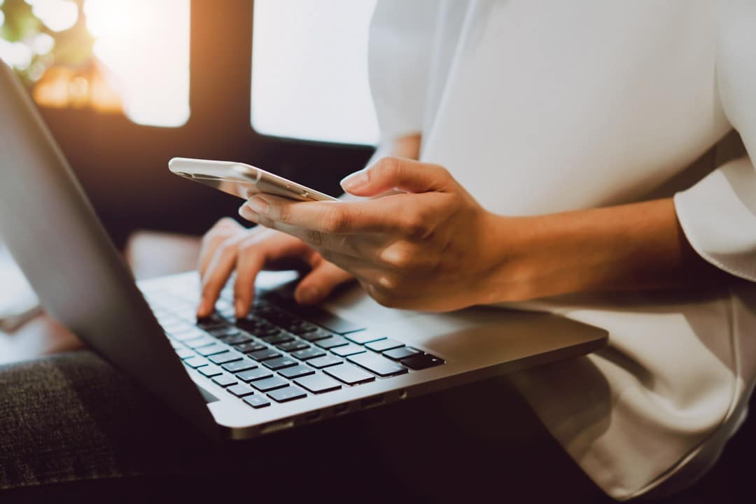 working from home: put your phone away