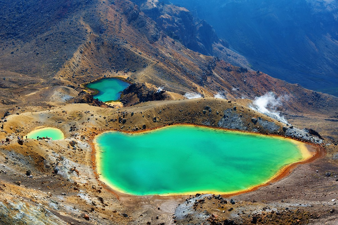 great walks of new zealand Tongariro Northern Circuit