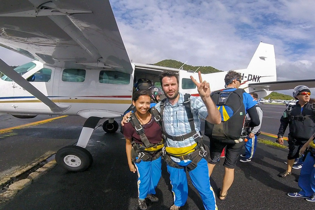 Skydiving in Cairns: getting ready