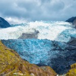 south island short walks – Franz Josef Glacier emerged from the clouds