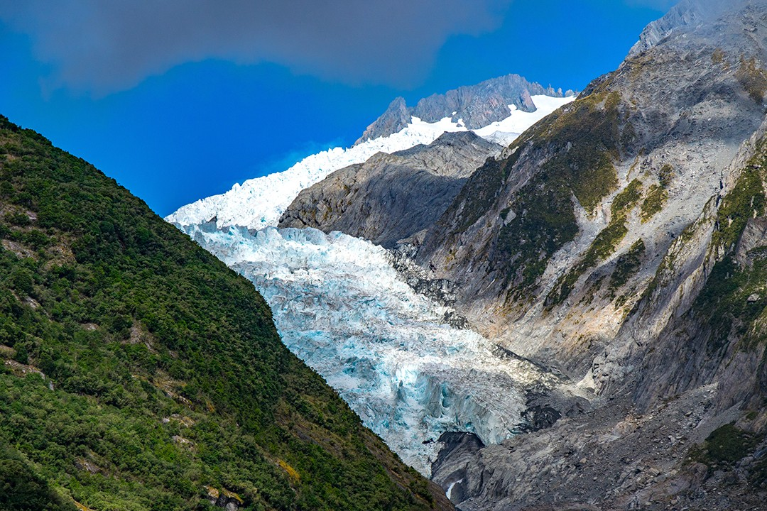 Franz Josef Glacier in good weather