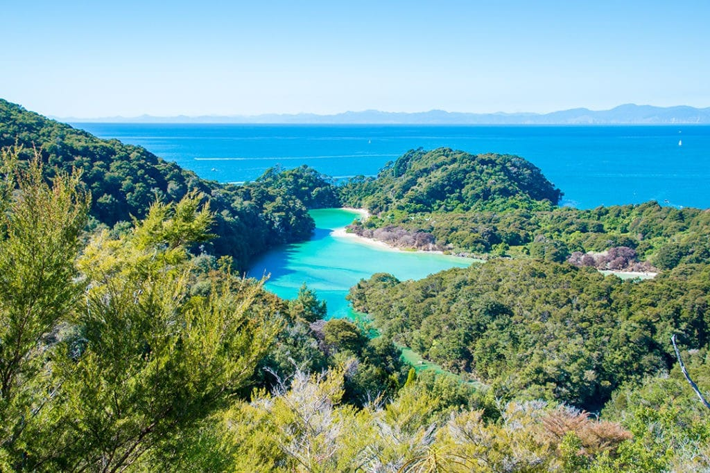 Abel Tasman National Park is named after the first European to discover New Zealand