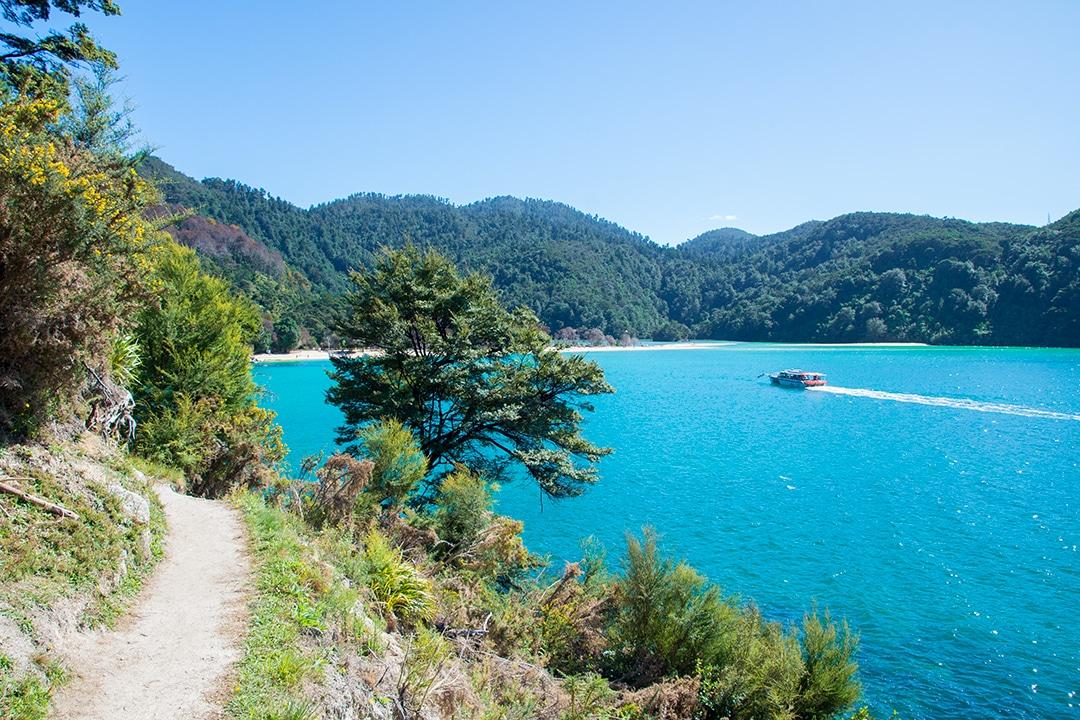 Hiking the Abel Tasman Coast Track 7