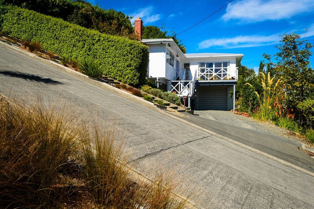 Baldwin Street is the world's steepest residential street