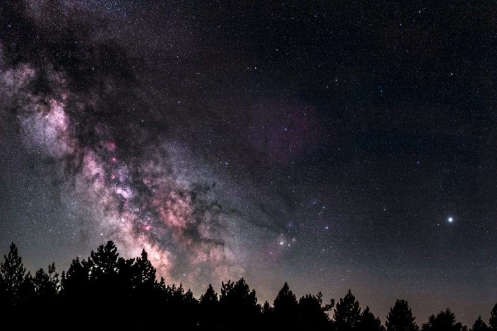 dark sky reserves : A starry night at Cévennes National Park