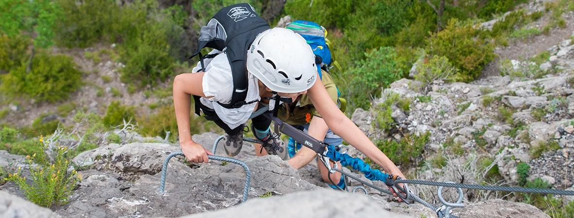 Iron nerve: via ferrata in the Catalan Pyrenees