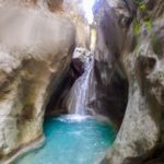 A chasm: Hell's Canyon in Catalonia Barranc de l'Infern