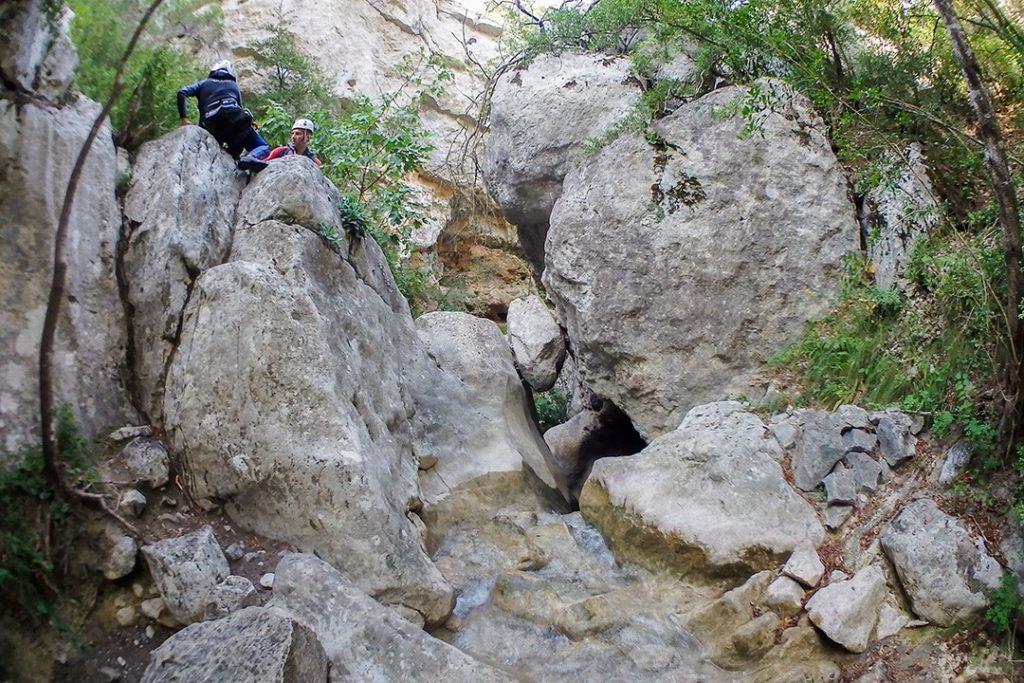 Exploring Hell's Canyon in Catalonia Barranc de l'Infern