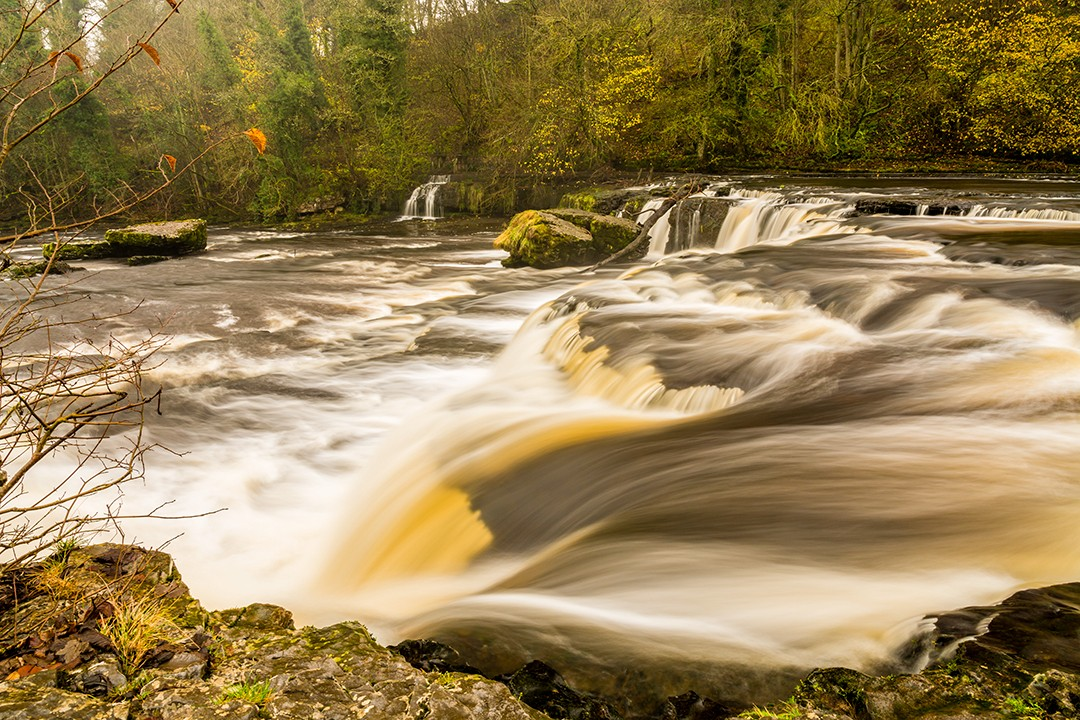 best views in the Yorkshire Dales Aysgarth Falls