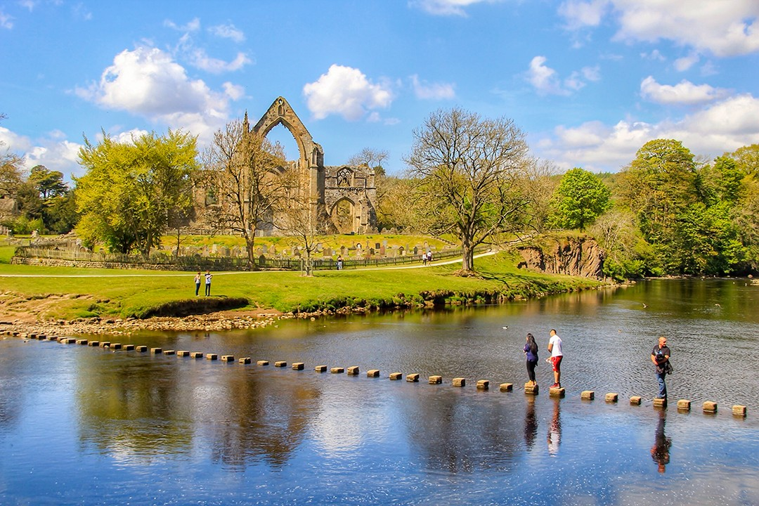 best views in the Yorkshire Dales Bolton Abbey