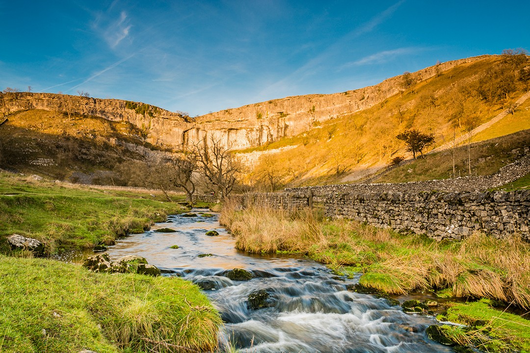 best views in the Yorkshire Dales Malham Cove beck