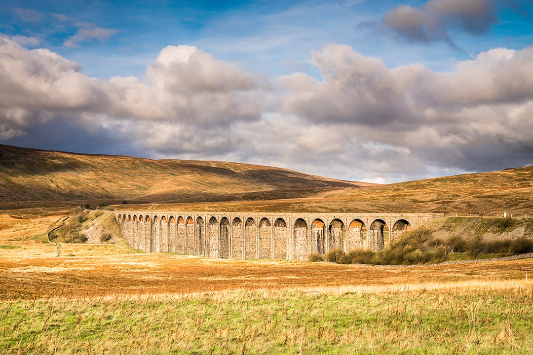 best views in the Yorkshire Dales Ribblehead Viaduct 2