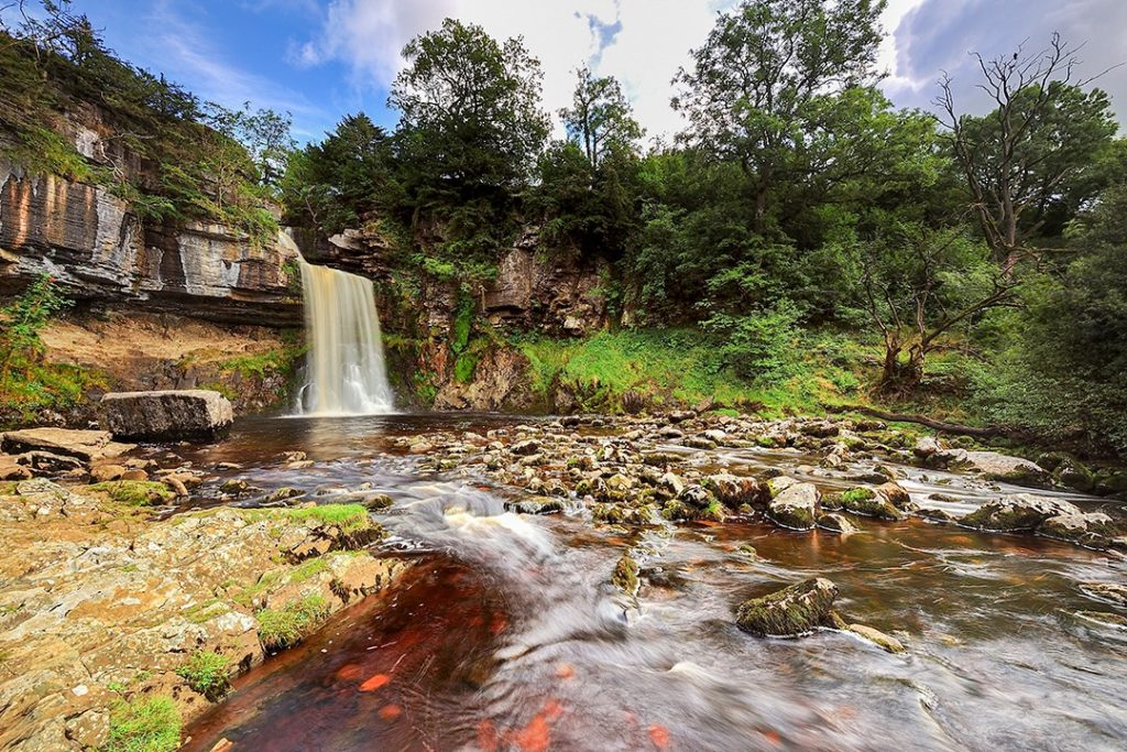 best views in the Yorkshire Dales Thornton Force 2