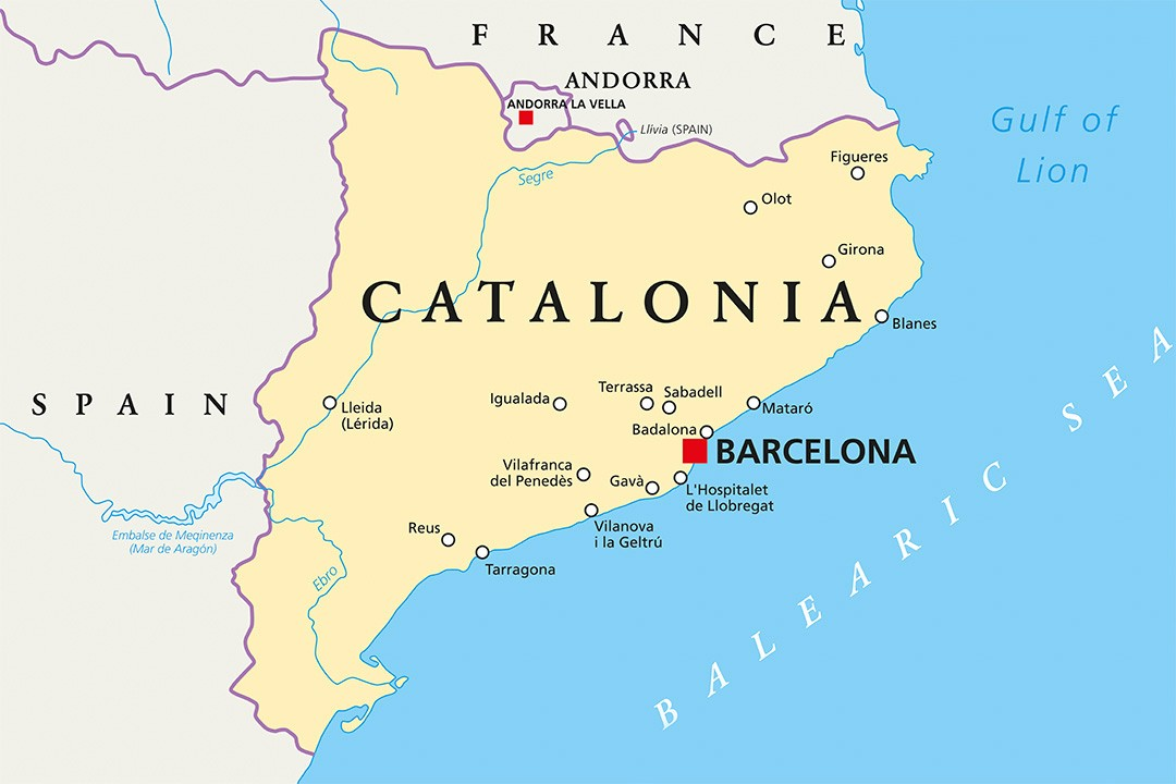 Map Of Spain Showing Catalonia.17 Interesting Facts About Catalonia Atlas Boots