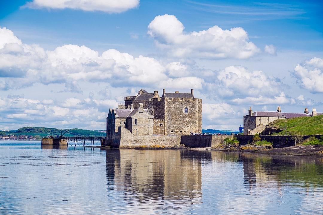 Britain's best long-distance footpaths Blackness Castle John Muir Way