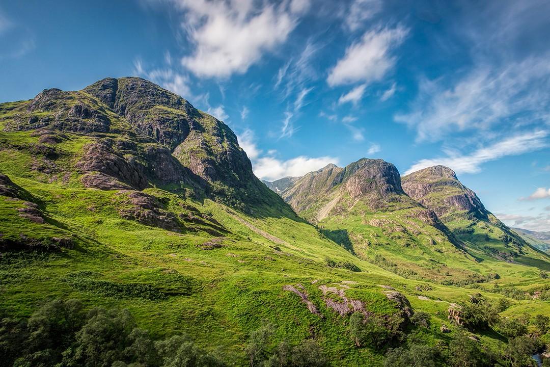 Britain's best long-distance footpaths Glen coe west highland way