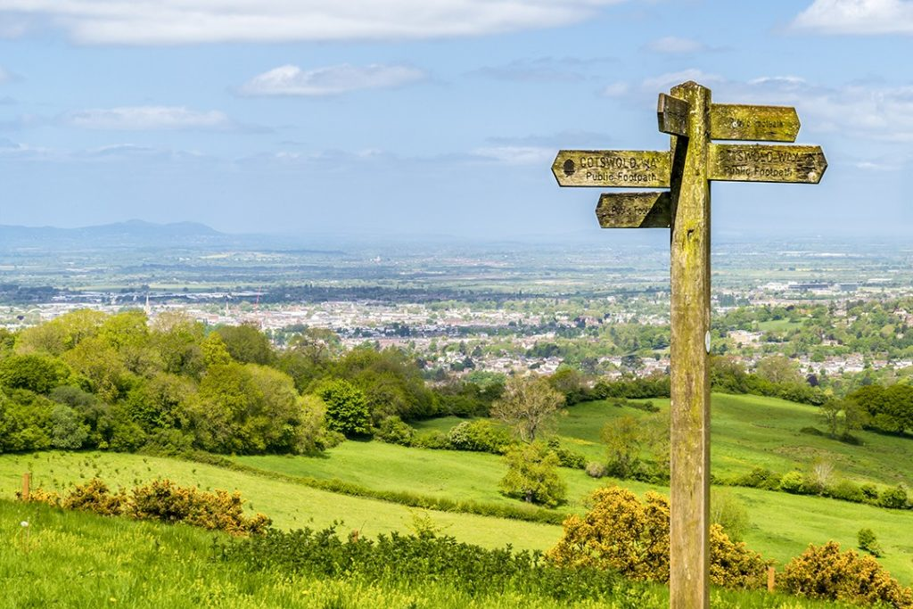 The Cotswold Way is one of the most popular hiking trails in England