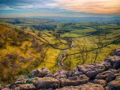 Malham Cove is one of best views in the Yorkshire Dales