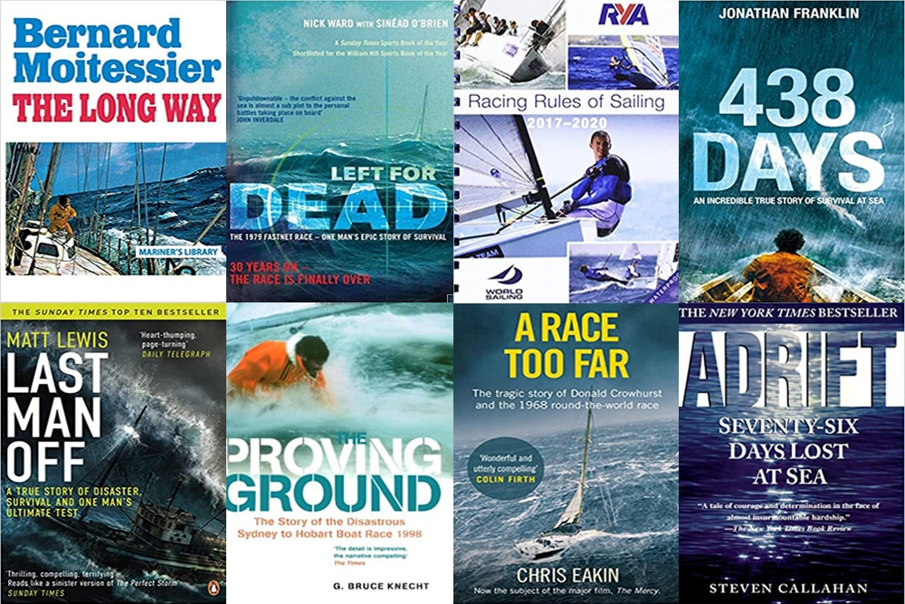 another montage of best sailing books