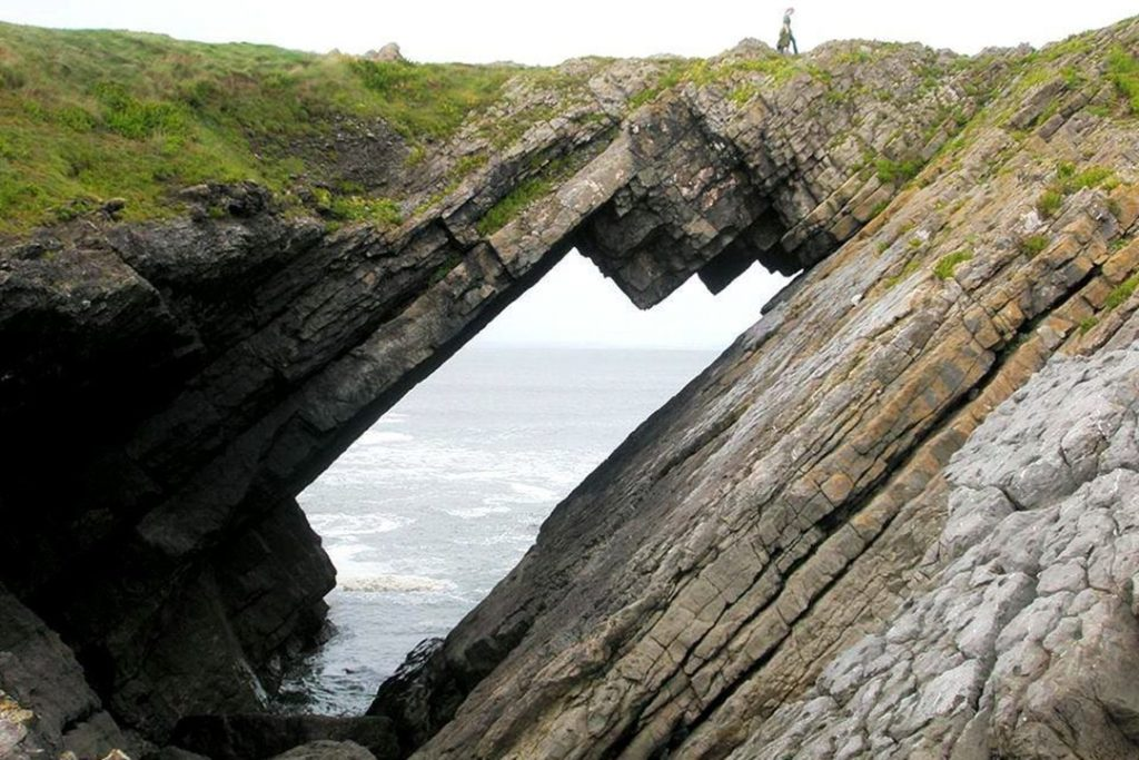 The Devil's Bridge may one day crash into the sea