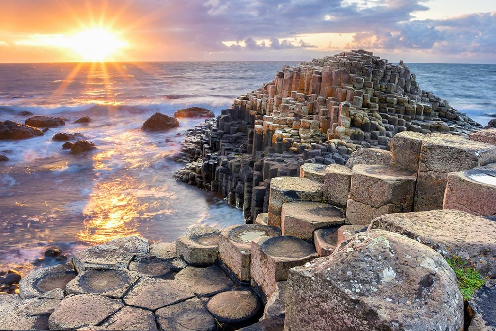 The Giant's Causeway is the most famous natural wonder in Northern Ireland