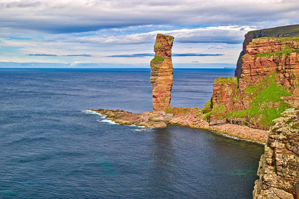 The Old Man of Hoy may soon collapse into the sea