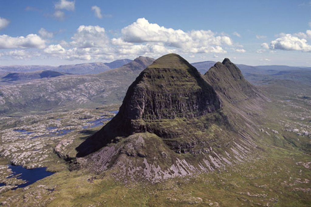 Suilven is one of the finest peaks in the UK