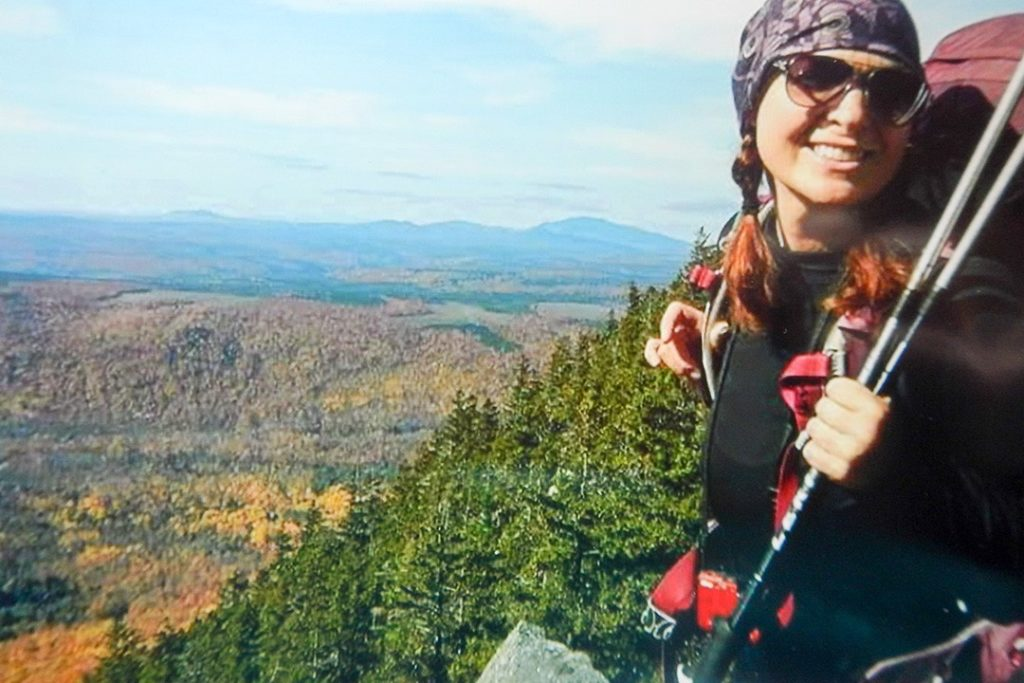 Cheryl Hadrych has done over 900 miles of solo hiking