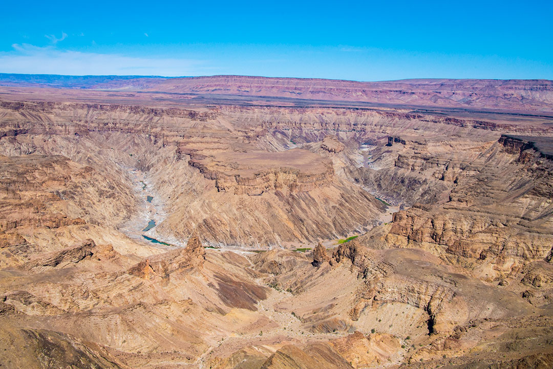 self-drive safari through Namibia fish river canyon