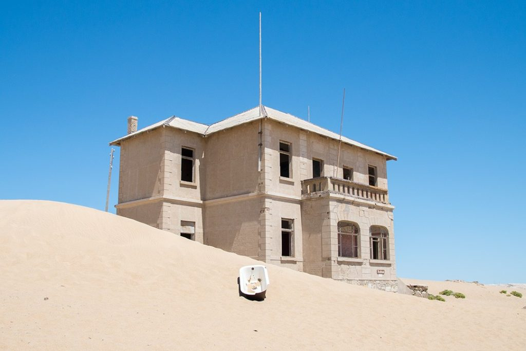 Kolmanskop was a thriving town of wealthy residents
